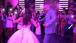 Video Father daughter dance Leana's Quince download MP3, 3GP, MP4, WEBM, AVI, FLV Agustus 2018