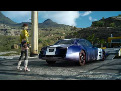 Final Fantasy XV Part 5 magic mixing, old school FF music in my car