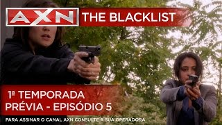 AXN | The Blacklist - 1ª Temporada - Prévia - Episódio 5