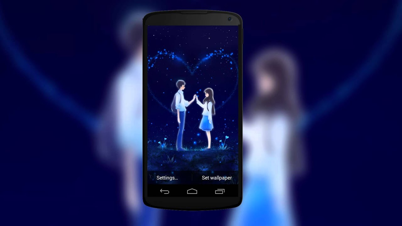 Romantic Love and Heart Live Wallpaper