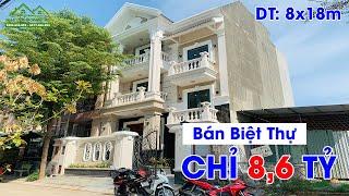 Bán Biệt Thự Quận 12 #1 ✅ Bán Biệt Thự Chỉ 8,6 TỶ | Nhà đất Hồng Hà