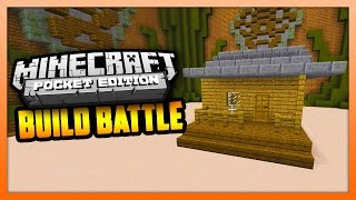 Minecraft PE (Pocket Edition) - BUILD BATTLE - Starter House!