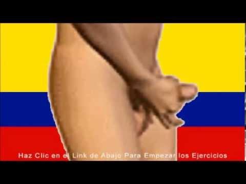tamaño del pene colombiano