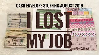 Cash Envelope Stuffing August 2019 | Dave Ramsey Inspired | Budgeting