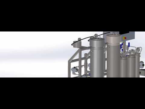 Apeks Supercritical 5000psi High Production system vessel conversion