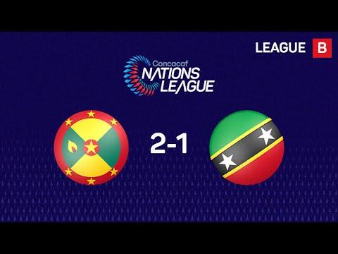 Highlights #CNL: Grenada 2 - 1 Saint Kitts And Nevis