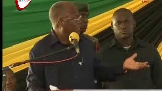 Rais Magufuli Ziara Katika Kiwanda cha Sukari Kagera
