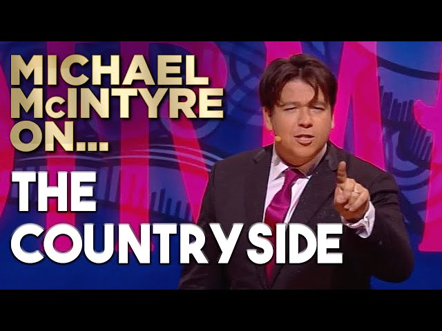 The Terrifying Difference Between Night And Day In The Countryside | Michael McIntyre