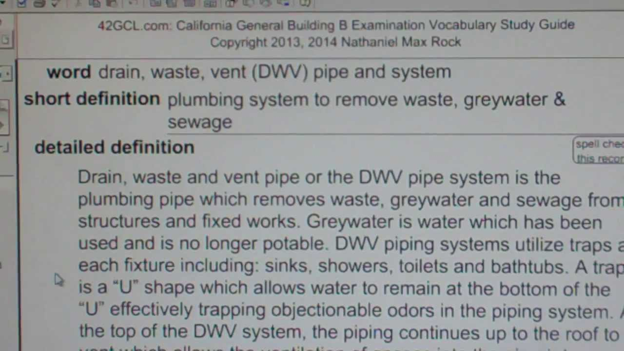 Vent System Drain Waste Vent Dwv Pipe And System Gce42com General