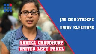 JNU student union elections, 2018: Sarika Chaudhury