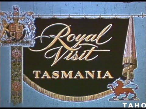The Royal Visit Tasmania (1954)