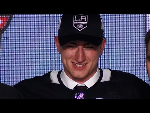 Vilardi falls into Kings lap at 11th selection