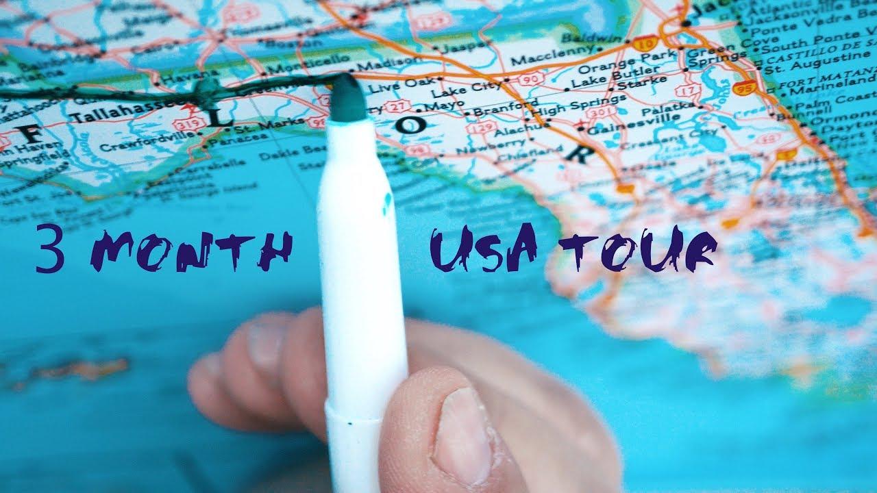 My 3 month ROAD TRIP around USA