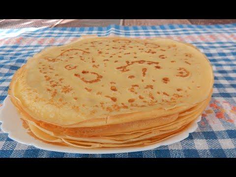 Домашние блины✧ Блины на молоке ✧ Простой и вкусный рецепт тонких блинчиков