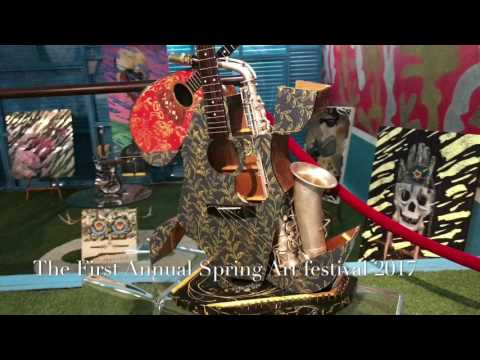 Danieli Art World West Palm Beach 1st Spring Art Festival 2017 Commercial 4