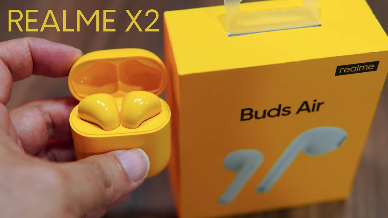 Realme Buds Air First Look And Realme X2 Camera Samples Price Rs 3 999 Youtube