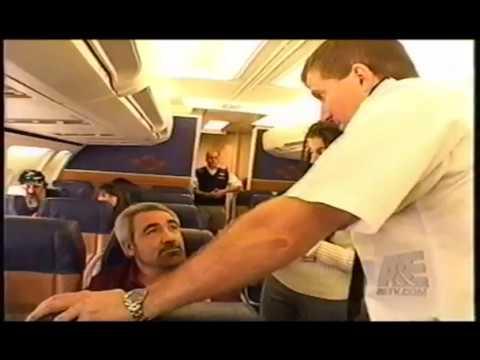 Gina Terrano Craig Pulls Passenger  Airline TV