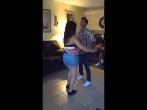 Dancing Bachata to Romeo Santos  Propuesta Indecente