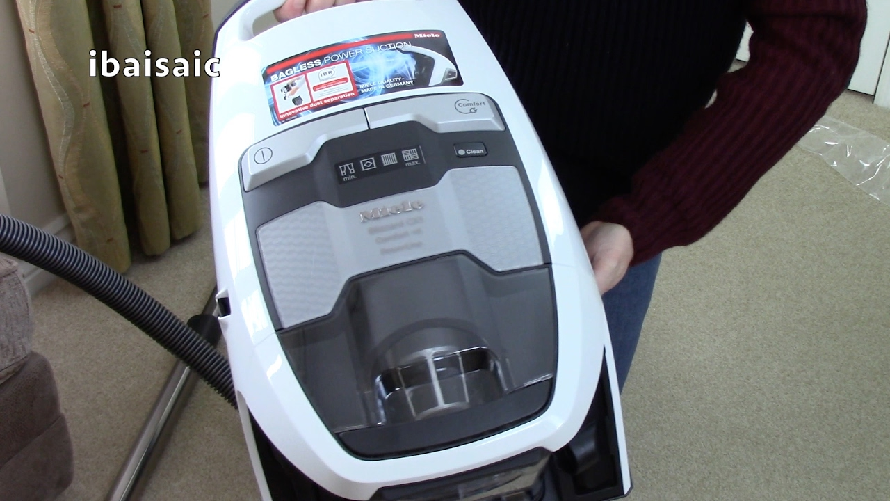 miele blizzard cx1 comfort powerline bagless vacuum cleaner unboxing youtube. Black Bedroom Furniture Sets. Home Design Ideas