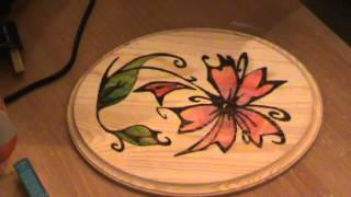 Basics And Tools Of Pyrography (how To Add Color For Your Wood Piece) Part 4