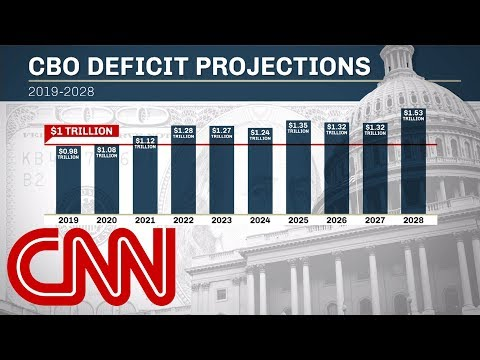 New forecast predicts trillion-dollar deficits