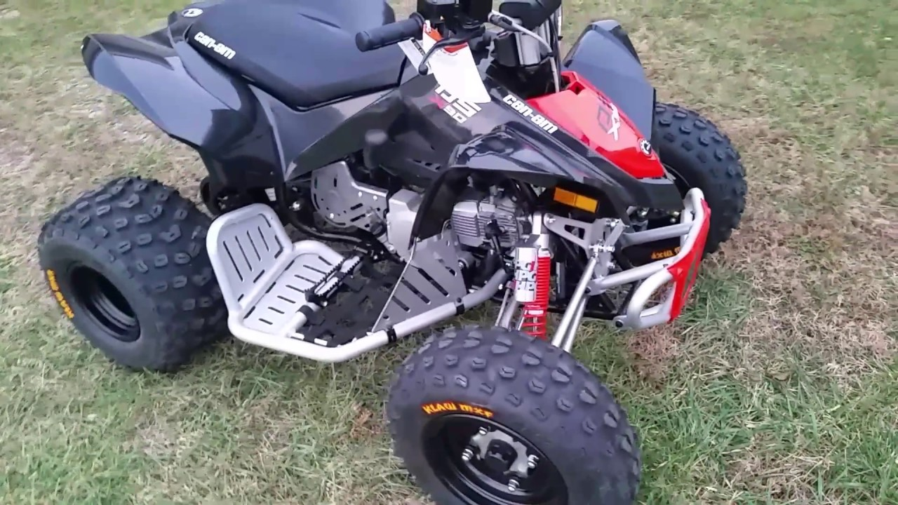 2017 Can-am Ds90x New Color