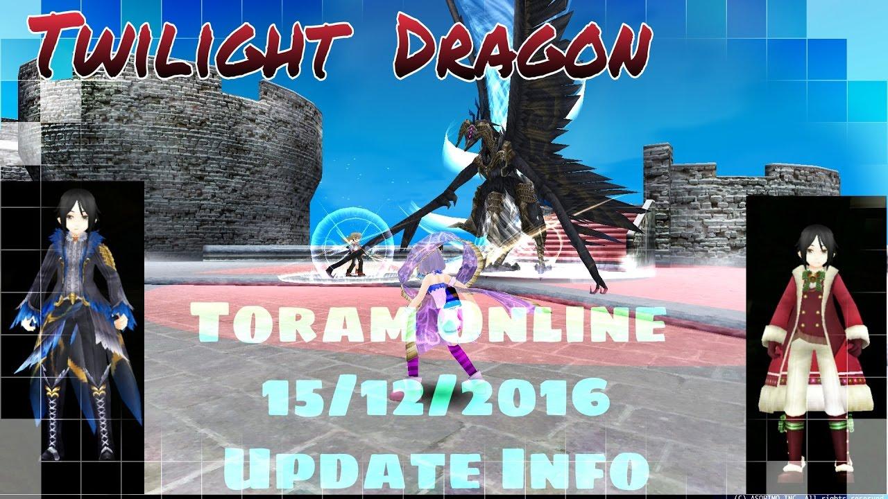 Twilight dragon equipment update  toram