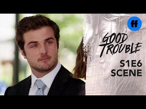 Good Trouble Season 1, Episode 6 | Callie and Jamie Flirt | Freeform