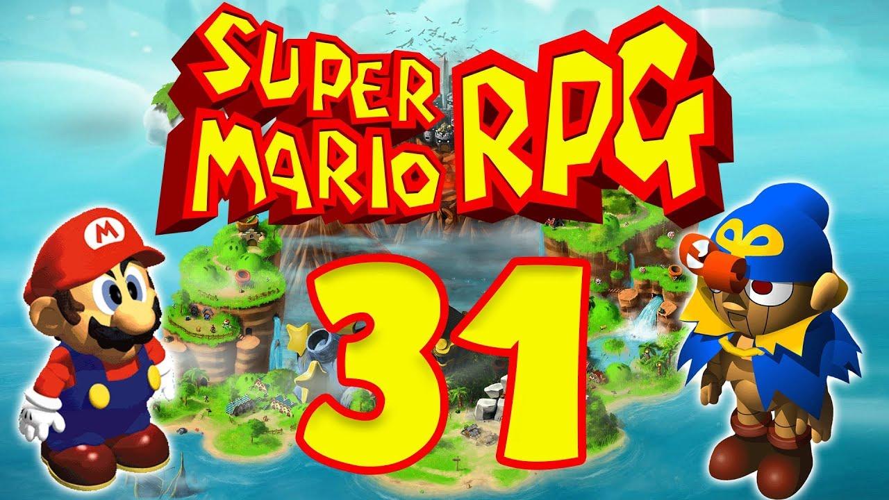Lets Play Super Mario RPG: Legend of the Seven Stars - Part 31 - Zardrache  & Skelettzombie Fight