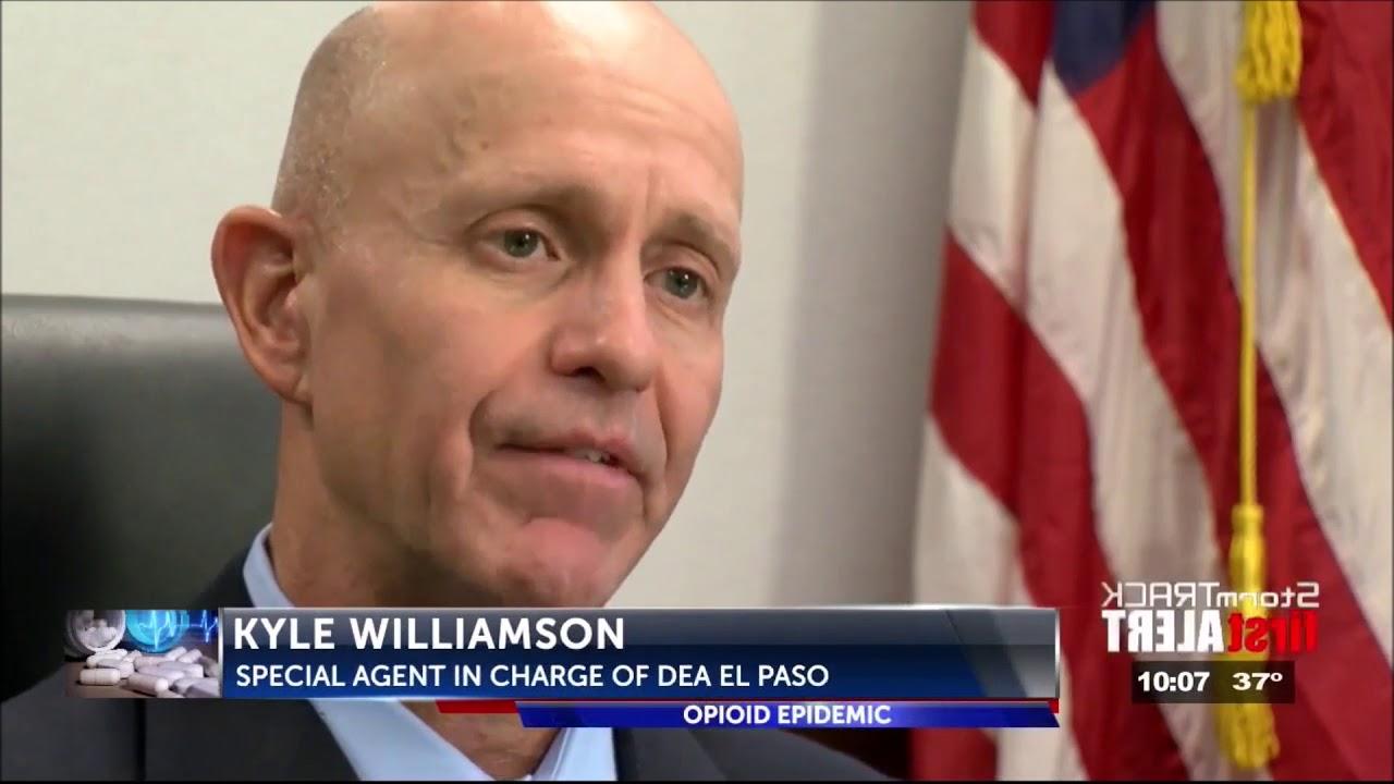 DEA SAC Kyle Williamson with ABC 7 KVIA in El Paso- Edit