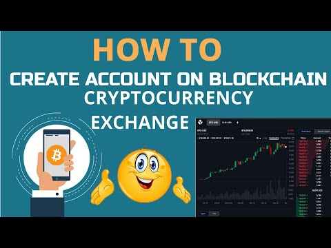 How To Create Account On Blockchain Crypto Exchange | Blockchian