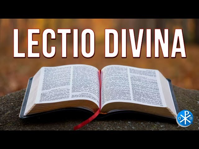 Lectio Divina   Perseverancia - P. Gustavo Lombardo