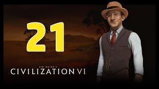 Прохождение Civilization 6 #21 - Испания в огне [Австралия - Божество]