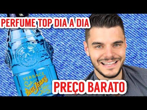 PERFUME TOP PREÇO BARATO | PARA O DIA A DIA | VERSACE BLUE JEANS