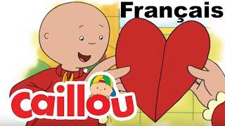 Caillou: Le mystère de la St-Valentin | conte pour enfant | Caillou en Français