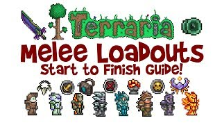 Best Terraria Melee Loadout Guide Class Weapons Armor Accessories 1 2 4 1 3