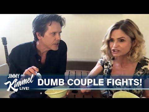 Kevin Bacon & Kyra Sedgwick Reenact a Dumb Fight from a Real Couple