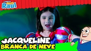 JACQUELINE - BRANCA DE NEVE - Festival Infantil de Cinema (Raul Gil)