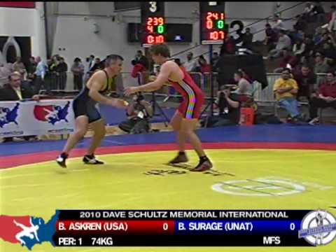 74kg: Ben Askren vs. Brian Surage
