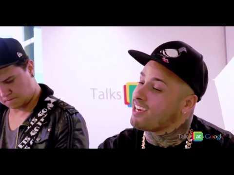 NickyJam - Travesuras & Voy A Beber Remix// Acustico #Google2014