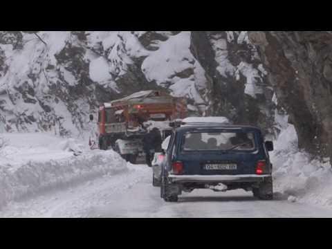 Ora News - I ftohti në Kosovë - Prizren- Prevallë kanë rënë gati 13 orteqe