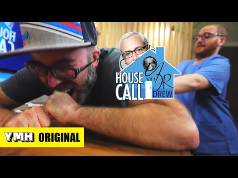 Josh Potter Needs To Have A Cyst Removed | House Call With Dr. Drew | YMH Original