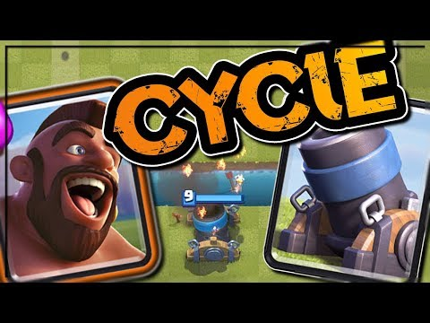 HOG MORTAR CYCLE DECK HIGHLIGHT | OPENING QUEST SUPER MAGICAL CHEST | Clash Royale