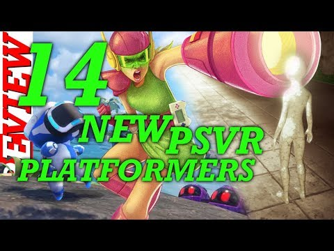 ALL 14 NEW UPCOMING PSVR PLATFORMER GAMES