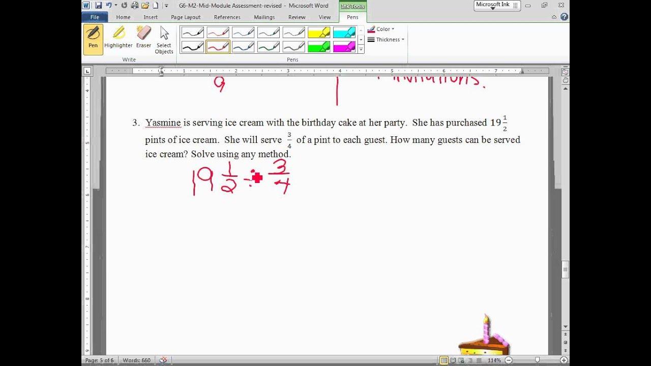 Grade 4 Math Module 3 Mid Module Assessment