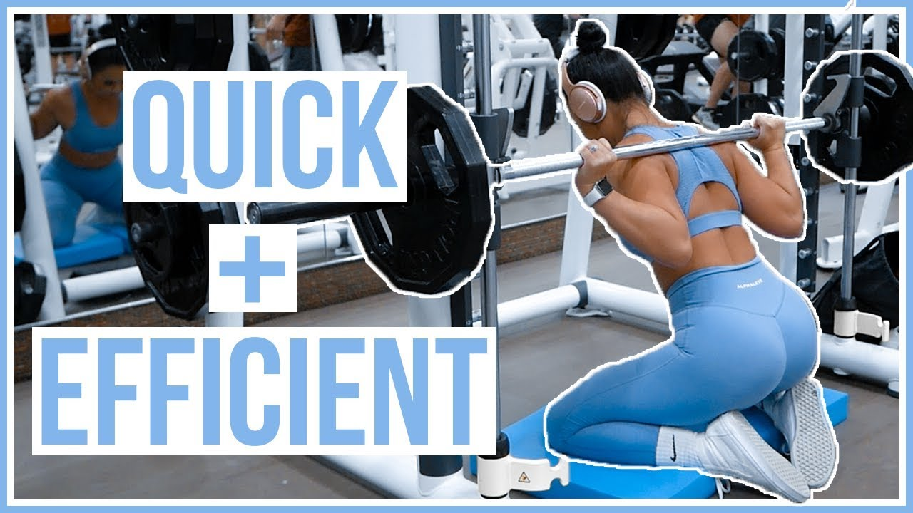 SMITH MACHINE ONLY BOOTY WORKOUT – SAM's HEALTH and Fitness