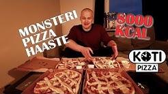Kotipizza - MONSTERI HAASTE