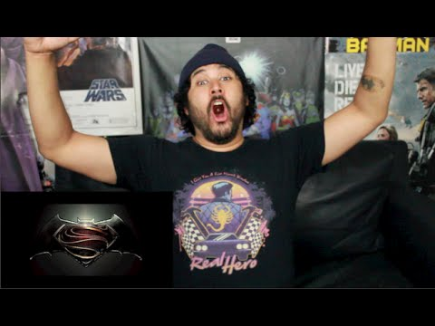BATMAN VS. SUPERMAN DAWN OF JUSTICE OFFICIAL TEASER TRAILER REACTION & REVIEW!!!
