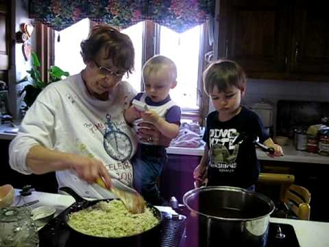 Cooking with Grandma Connie