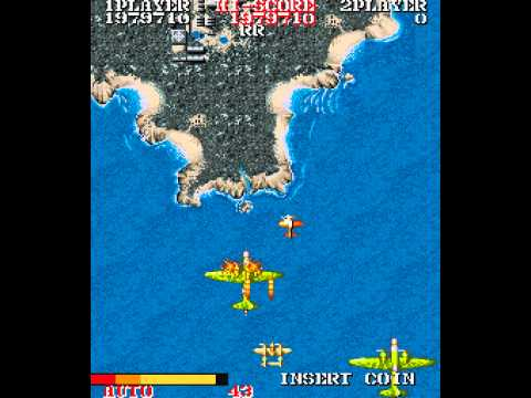 1943: The Battle of Midway Arcade - Full Run on Level 16 Har